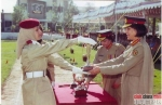 Pakistani Women Army Officers Passing Out Parade
